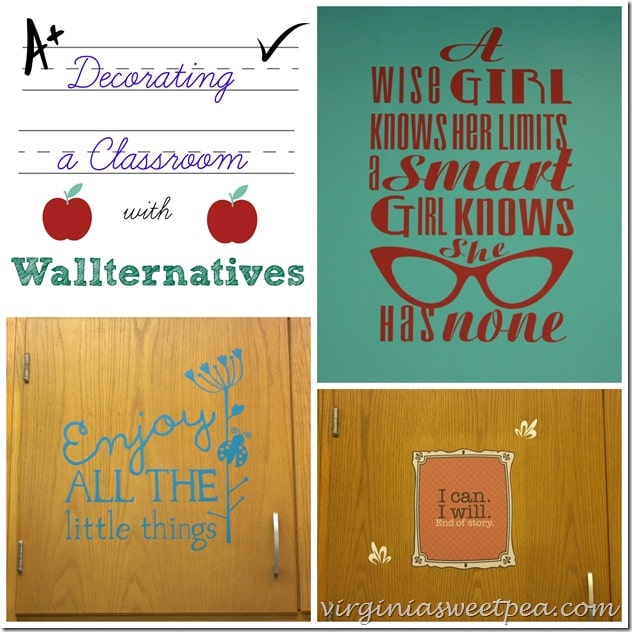 Decorating  Classroom with Wallternatives by virginiasweetpea.com