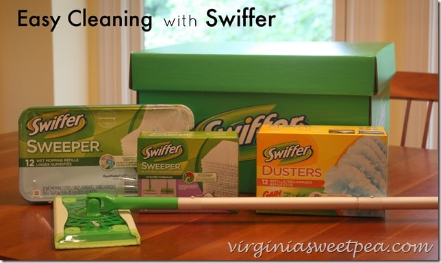 Easy Cleaning with Swiffer #SwifferEffect #BigGreenBox
