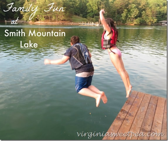 Family Fun at Smith Mountain Lake by virginiasweetpea.com