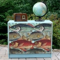 Fish Themed Decoupage