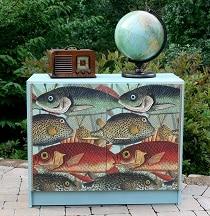 Fish Themed Decoupage