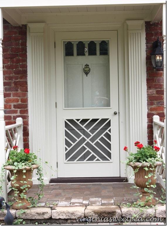 Freshly Cleaned Chippendale Door