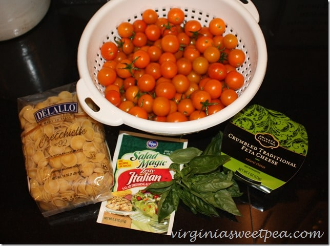 Easy Cherry Tomato Pasta Sauce No Cook Sweet Pea