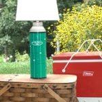 Copycat Vintage Thermos Lamp