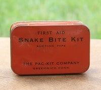 Vintage Snake Bit Kit by virginiasweetpea.com