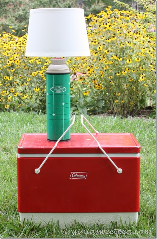 Vintage Thermos Lamp by virginiasweetpea.com