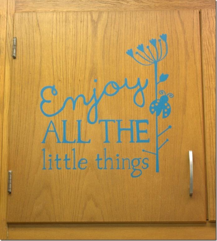Wallternatives-Enjoy All the Little Things