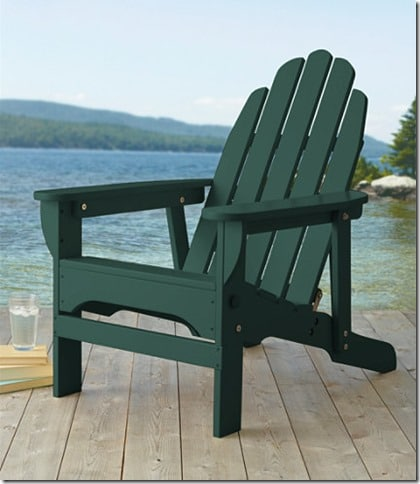 LL Bean Adirondack Chair