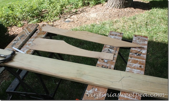 Adirondack Chair Templates - Tracing