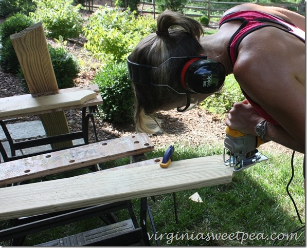 Cutting Out Adirondack Chair Pieces2