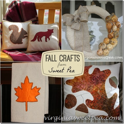Fall Crafts from virginiasweetpea.com
