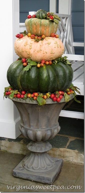 Fall Outdoor Urn