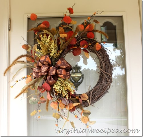 Fall Wreath #BestofDIY