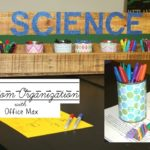 Classroom Organization :: DIY Pallet Caddy with Office Max Supplies
