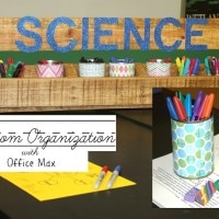 Classroom Organization with Office Max #inspirestudents #teacherschangelives #Pmedia #ad