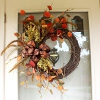 Fall Wreath by virginiasweetpea.com