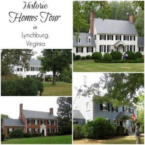 Historic Homes Tour in Lynchburg, VA
