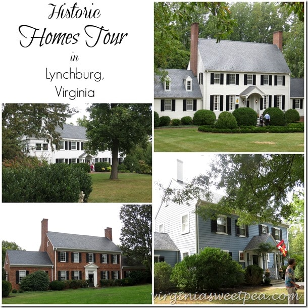 Historic Homes Tour in Lynchburg, VA by virginiasweetpea.com