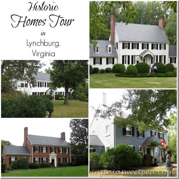 Historic Homes Tour in Lynchburg, VA by virginiasweetpea.com