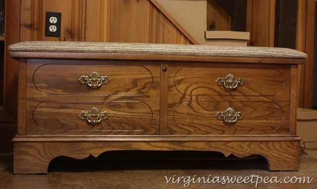 Themed Furniture Makeover Day Two Tone Lane Cedar Chest Sweet Pea