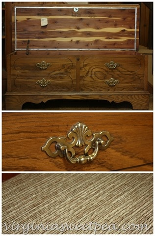 Themed Furniture Makeover Day Two Tone Lane Cedar Chest