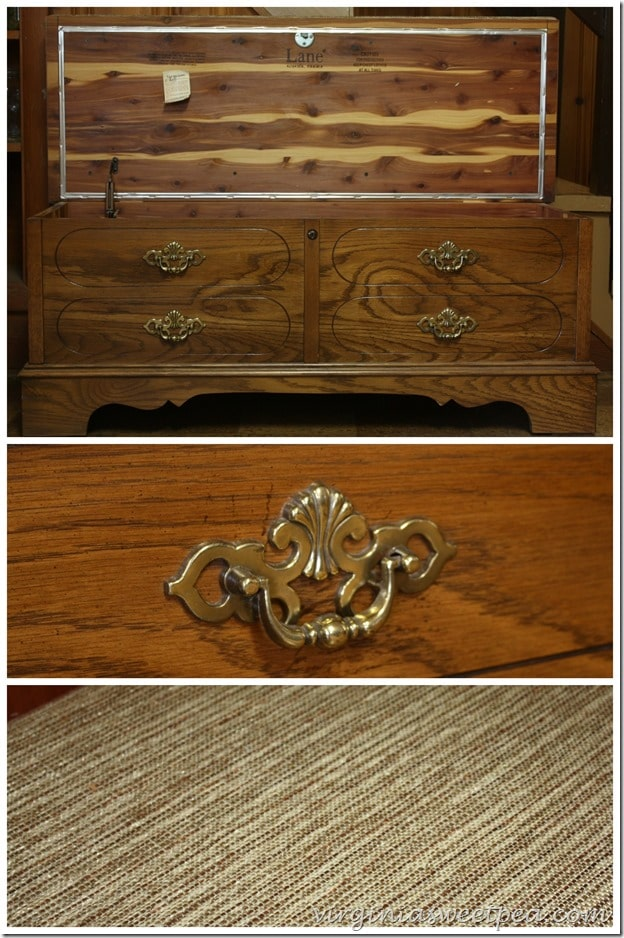 Lane Cedar Chest Made in Altavista Virginia