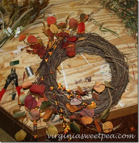 Wreath Making How to by virginiasweetpea.com