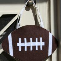 How to Make a Football Halloween Treat Bag