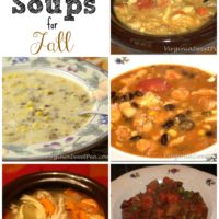 Five Delicious Soups for Fall by virginiasweetpea.com