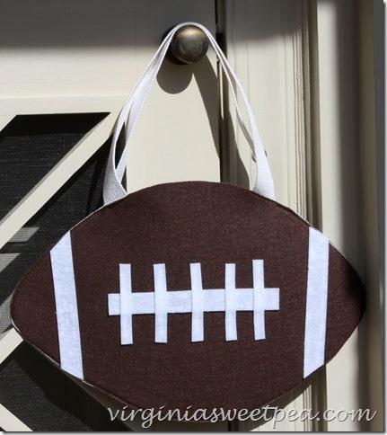 Football Halloween Treat Bag