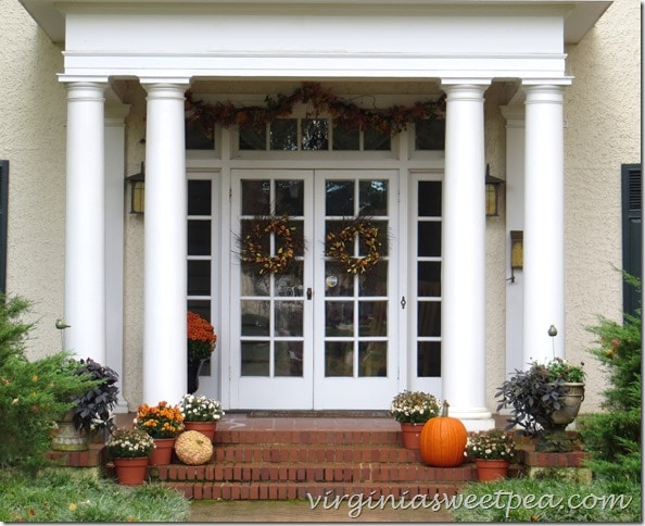 Fall Porch from Lynchburg, VA