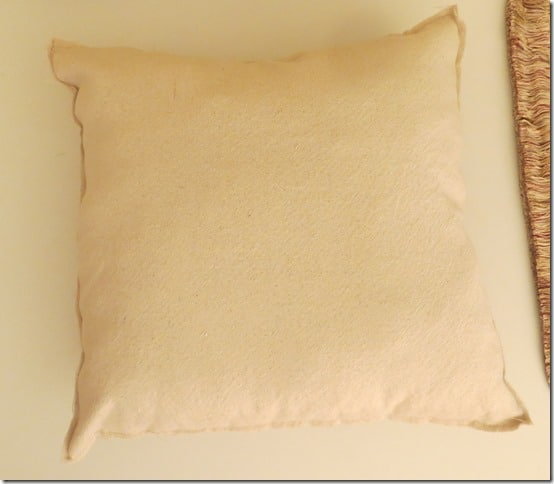 DIY Pillow Insert