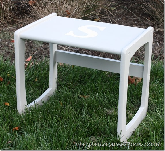 Monogrammed Table4