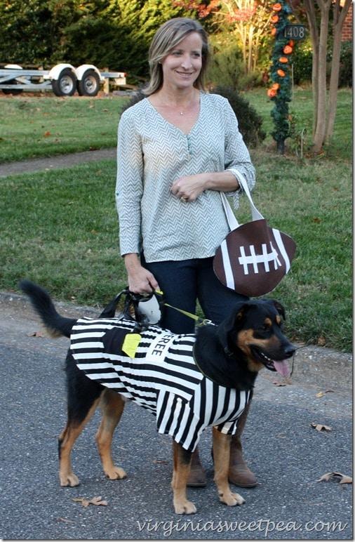 Sherman Skulina with DIY-Halloween-Treat-Bag