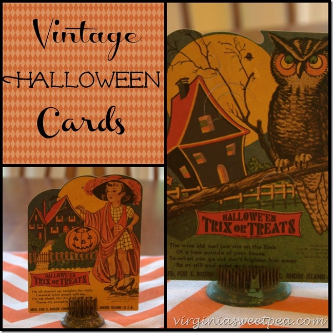 Vintage Halloween Cards by virginiasweetpea.com