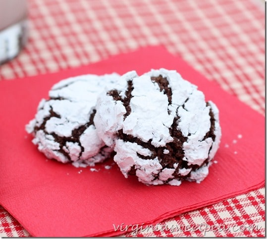 Chocolate Crinkles by virginiasweetpea
