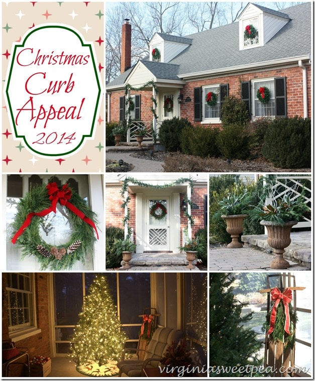 Christmas Curb Appeal 2014 - Virginia Sweet Pea Blog