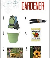 Holiday Gift Guide for the Gardener