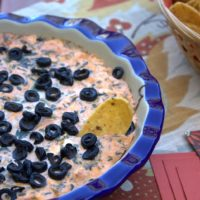 Hot Spinach Taco Dip