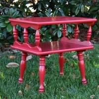 Table Makeover with Red by virginiasweetpea