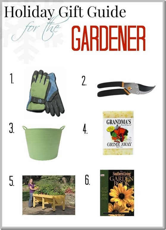 Holiday Gift Guide for the Gardener