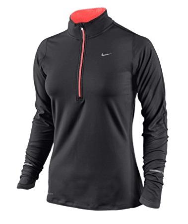 Nike Half Zip Long Sleeve Running Top