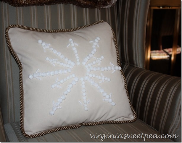 Pottery Barn Knockoff Pillow