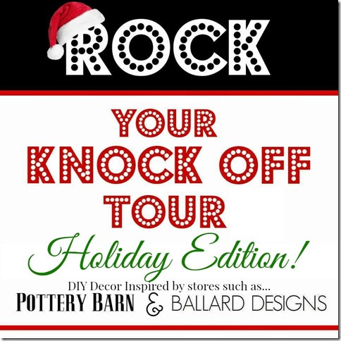 Rock Your Knock Off Holiday edition button