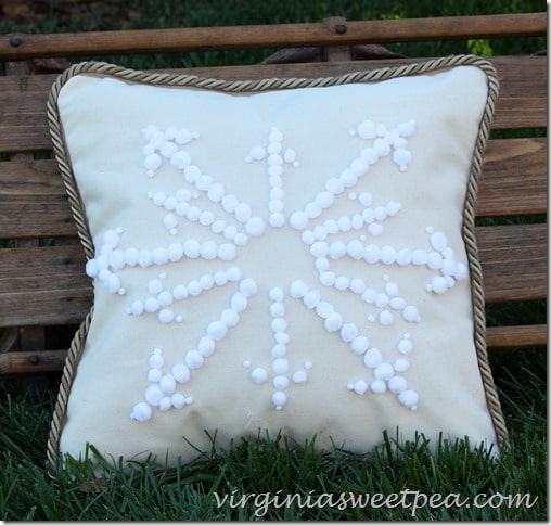 Snowflake Like Pillow