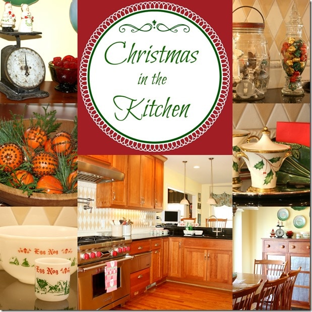 Christmas in the Kitchen by virginiasweetpea.com