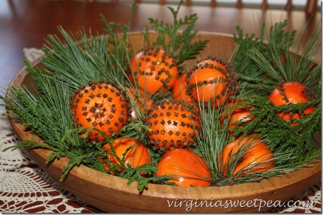 Cloved Orange Centerpiece
