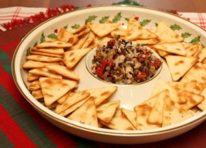 Olive and Red Pepper Mediterranean Dip {With a Kick!}