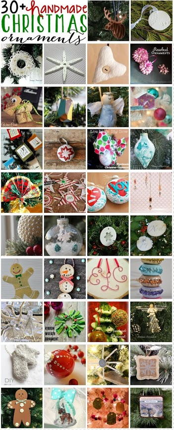Handmade Christmas Ornaments Collection