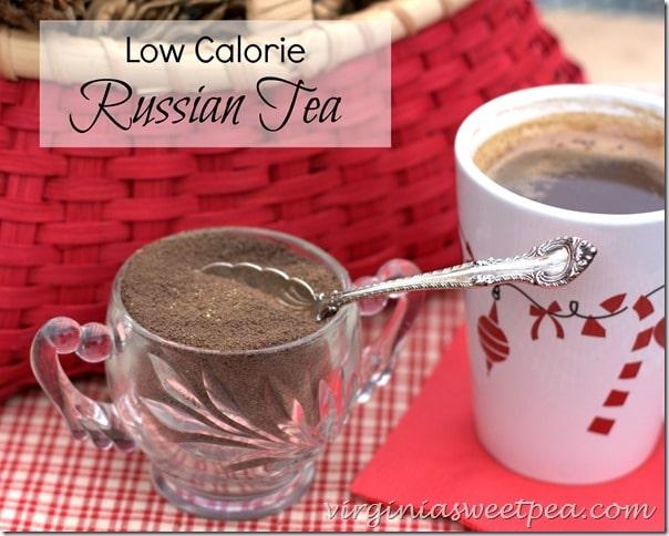 Low Calorie Russian Tea by VirginiaSweetPea.com